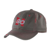 Hard 90 Baseball Distressed Cap