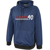 Hard 90 Heathered Performance Hoodie